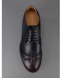 DSquared² | Purple Laceup Brogue for Men | Lyst