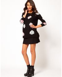 Sugarhill - Black Lady Luck Jumper - Lyst