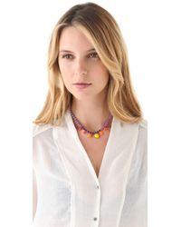 Tom Binns - Pink Pinata Vibrant Necklace - Lyst