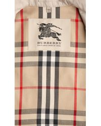 Burberry | Natural Wide Cuff Trench Coat | Lyst