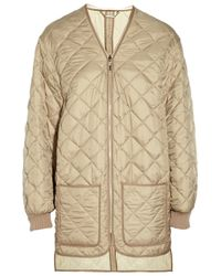 Chloé - Natural Quilted Jacket - Lyst