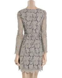 Erdem | Gray Vavinia Lace Dress | Lyst