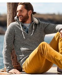 H&M - Gray Hooded Jacket for Men - Lyst