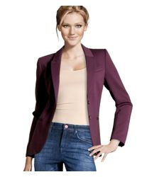 H&M - Purple Jacket - Lyst