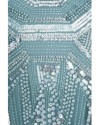 Elie Saab | Blue Bell Sleeves Beaded Gown | Lyst