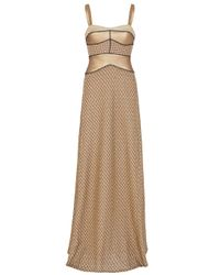 Missoni | Gold Lurex Gown | Lyst