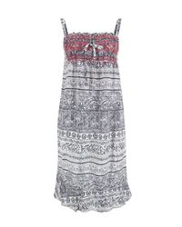 Odd Molly - 102 Mid Blue Ikat Strap Dress - Lyst