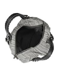 Pauric Sweeney - Black Striped Canvas Tote - Lyst