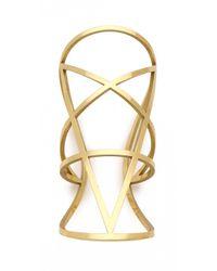 Pamela Love | Metallic Brass Pentagram Cuff | Lyst
