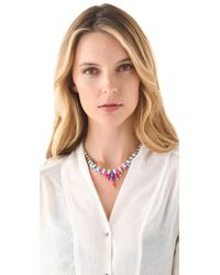 Tom Binns - Multicolor Jazz Baguette Necklace - Lyst