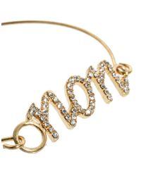 ASOS - Metallic Multipack Of Rhinestone Oui Non Torque Bracelets - Lyst