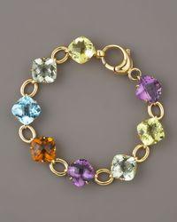 Roberto Coin | Multicolor Multi-stone Bracelet | Lyst
