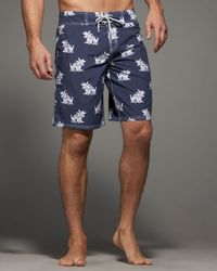 Vilebrequin | Blue Giraffe-print Ocean Boardshorts for Men | Lyst