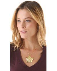 Tuleste - Metallic Star Pendant Necklace - Lyst