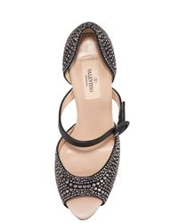 Valentino - Black Microstud Mary Jane - Lyst