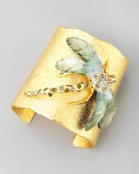 Alexis Bittar | Metallic Golden Allegory Dragonfly Cuff | Lyst