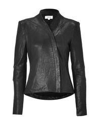 Helmut Lang | Black Leather Jacket | Lyst