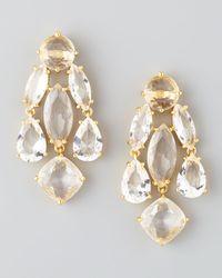 Kate Spade | Metallic Statement Crystal Earrings | Lyst