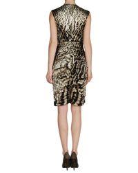 Roberto Cavalli | Animal Short Dress | Lyst