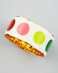 kate spade new york | Multicolor True Colors Idiom Bangle | Lyst