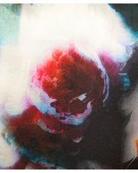 Paul Smith Black Label | Purple Peony Back Cardigan | Lyst