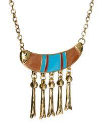 ASOS - Orange Aztec Necklace for Men - Lyst