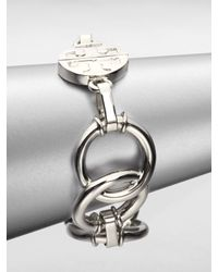Tory Burch | Metallic Ring Link Bracelet | Lyst