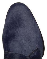 Alexander Wang | Blue Ruby Monk Calf Hair Oxford Shoes | Lyst