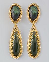 Alexis Bittar - Green Siyabona Labradorite Earrings - Lyst