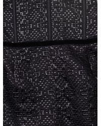 Bottega Veneta   Black Bustier Woven Dress   Lyst