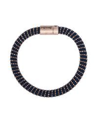 Carolina Bucci | Black Twister Gold Bracelet | Lyst