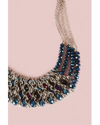 Coast - Metallic Maria Statement Necklace - Lyst