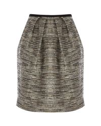 Coast | Gray Teasel Tweed Skirt | Lyst