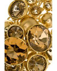 Elie Saab - Metallic Large Gemstone Bracelet - Lyst