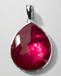 Ippolita - Purple Jumbo Raspberry Teardrop Enhancer - Lyst