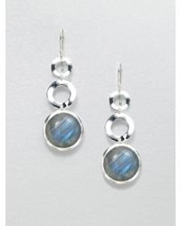 Ippolita | Metallic Labradorite Sterling Silver Link Earrings | Lyst