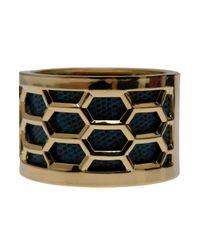 Kara Ross - Green Honeycomb Cuff - Lyst