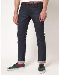 Levi's   Blue Levi's Line 8 519 Jeans Super Skinny Indigo for Men   Lyst