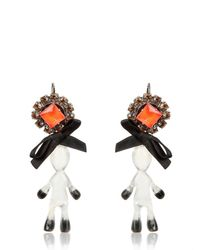 Marni | Multicolor Twin Doll Bow Earrings | Lyst