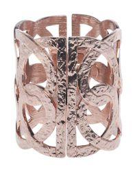 Oscar de la Renta - Pink Rose Gold Loop Cuff - Lyst