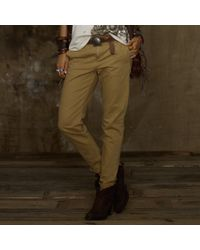 Ralph Lauren | Brown Boyfriend Pant | Lyst
