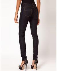 ASOS Blue Asos Petite Super Skinny Jean
