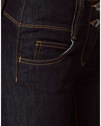 ASOS Collection - Blue Asos Petite Super Skinny Jean - Lyst