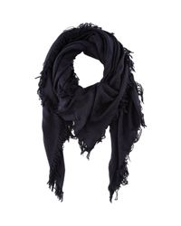 Balmain | Blue Oversized Damask Jacquard Scarf for Men | Lyst