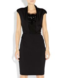 Bastyan | Black Christa Chunky Embellished Dress | Lyst