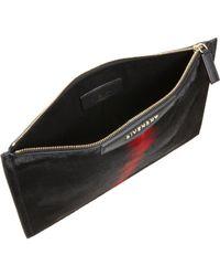 Givenchy | Black Cosmetic Tye Dye Ponyhair Medium Bag | Lyst