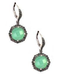 Judith Jack | Blue Rings And Things Swarovski Crystal And Sterling Silver Drop Earrings | Lyst
