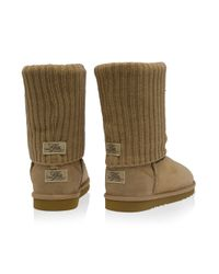 Love From Australia | Natural Cozi Knit Short Boots | Lyst