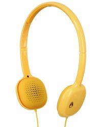 Nixon   Yellow The Loop Headphones for Men   Lyst