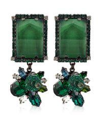 Erickson Beamon | Green Envy Earrings | Lyst